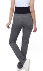 Three Seasons Maternity Slim Leg Colored Denim Jean - 6