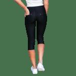 Stretchy Capri Jeans - Plus - 2