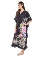 Long Kaftan Summer Maxi Dress - Plus - 4