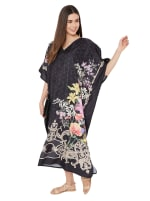Long Kaftan Summer Maxi Dress - Plus - 6
