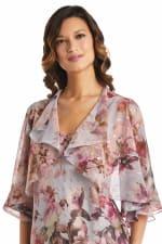Rose Floral  Jacket Dress - 3