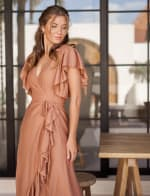 Carmen Wrap Maxi Dress - 6
