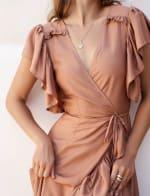 Carmen Wrap Maxi Dress - 9
