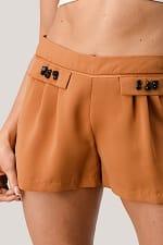Kaii Rhine Stone Pocket Detail Shorts - 9