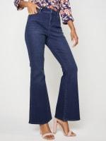 Westport Signature 5 Pocket High Rise Modern Flare Leg Jean - 5
