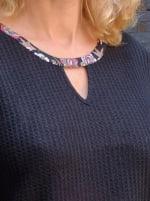 Westport Mix Media Thermal Knit Top - 3