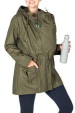 Modern Eternity Lara Maternity 3 in 1 Military Style Jacket - 4