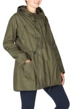 Modern Eternity Lara Maternity 3 in 1 Military Style Jacket - 1