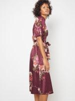 Deb Floral Pebble Jacquard Dress - Petite - 8