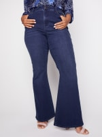 Westport Signature 5 Pocket High Rise Modern Flare Leg Jean - Plus - 1