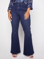 Westport Signature 5 Pocket High Rise Modern Flare Leg Jean - Plus - 5