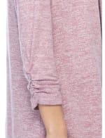 Cozy Cinch Sleeve Cardigan - 3