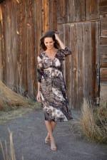 Lei Floral Midi Dress - 5
