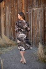 Lei Floral Midi Dress - 7