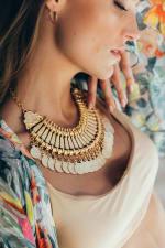 SukiSo Cappadocia Collar In Gold - 2