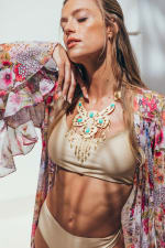 Sukiso Women's Dorado Turquoise Necklace Chain - 1