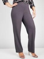 Roz & Ali Secret Agent Pants with Cat Eye Pockets & Zip - Plus - 8