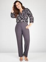Roz & Ali Secret Agent Pants with Cat Eye Pockets & Zip - Plus - 9