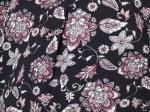 Roz & Ali Floral Side Tie Popover Blouse - Plus - 4
