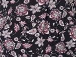Roz & Ali Floral Side Tie Popover Blouse - 3
