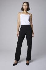 Roz & Ali  Secret Agent Pants with Cateye Pocket & Zipper - 4