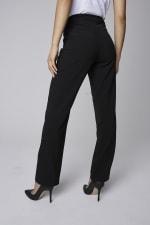 Roz & Ali  Secret Agent Pants with Cateye Pocket & Zipper - 7