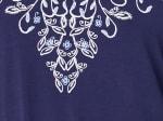 Westport V-Neck Puff Print Knit Top - Plus - 3