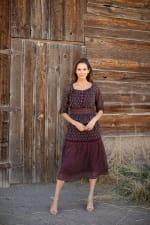 Maden Foulard Two Piece Skirt Set - 1