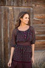Maden Foulard Two Piece Skirt Set - 3