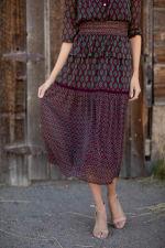 Maden Foulard Two Piece Skirt Set - 5