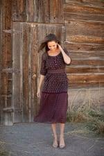 Maden Foulard Two Piece Skirt Set - 8