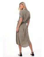 Uma Midi Shirt Dress - 5