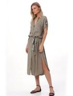 Uma Midi Shirt Dress - 7