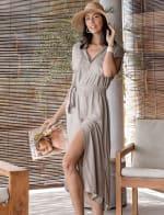 Uma Midi Shirt Dress - 4