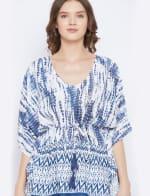 2-Piece Top and Pajama Rayon Co-Ord Set - 3