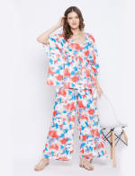 2-Piece Top and Pajama Rayon Co-Ord Set - Plus - 5