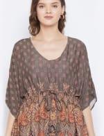 2-Piece Co-Ord with Adjustable Drawstring Rayon Set Pajama - Plus - 3