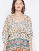 2-Piece Top Rayon Co-Ord Sets V-Neck Pajama - Plus - 3