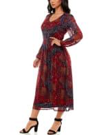 Madison and Hudson Long Sleeve Maxi Dress - 4
