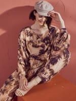 Zac & Rachel Tie Dye Cozy Lounge top - 5