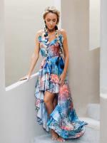 Juliette Rainbow Snakeskin Dress - 3