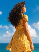 Sukiso Women's Yellow Soleil Dress - 2
