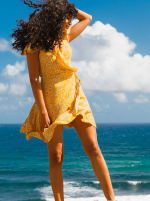 Sukiso Women's Yellow Soleil Dress - 3