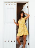 Sukiso Women's Yellow Soleil Dress - 1