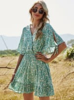 Sukiso Women's Light Blue Starielle Dress - 1