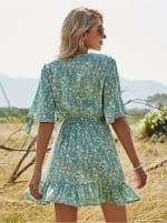Sukiso Women's Light Blue Starielle Dress - 2
