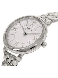 Fossil Women's Jacqueline Silver Stainless-Steel Plated Japanese Quartz Dress Watch - Silver - Back