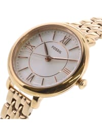 Fossil Women's Jacqueline Rose-Gold Stainless-Steel Plated Japanese Quartz Dress Watch - Rose-Gold - Back