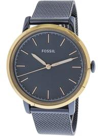 Fossil Women's Neely Blue Stainless-Steel Japanese Quartz Fashion Watch - Blue - Back