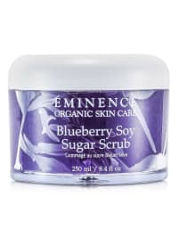 Eminence Women's Blueberry Soy Sugar Scrub Body Care Set - Back